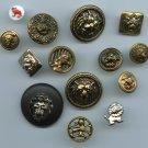 Vintage Lion buttons