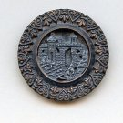 The Prince Returns button antique large brass button