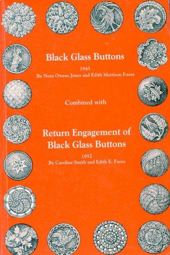 Black Glass Buttons Book