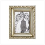 Fancy Gold and Silver Photo Frame (37003)