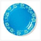 Blue Hawaiian Melamine Plate (36679)