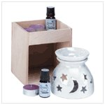 Moon And Star Oil Warmer Set (33055)