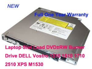 Laptop Slot Load DVD±RW Burner Drive DELL Vostro 1310 1510 1710 2510 XPS M1530