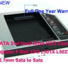 SATA 2nd Hard Drive HDD Caddy Adapter For Dell XPS L501X L502X