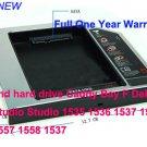 2nd hard drive Caddy Bay F Dell Studio Studio 1535 1536 1537 1555 1557 1558 1537