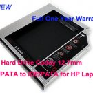 2nd Hard Drive Caddy 12.7mm IDE/PATA to IDE/PATA for HP Laptops