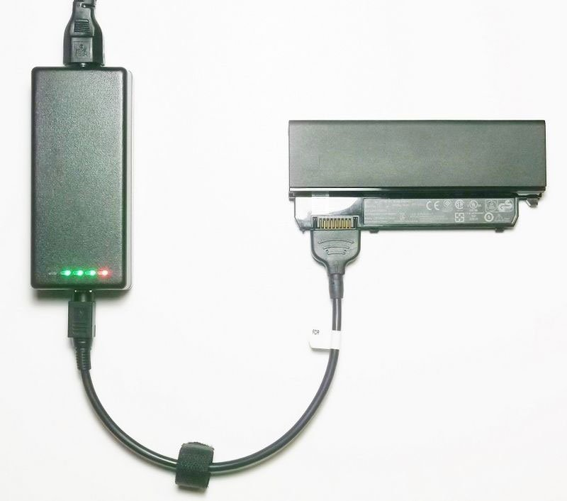 External Laptop Battery Charger for Dell Latitude D400 0U003 312-0078 312-0095 451-10141