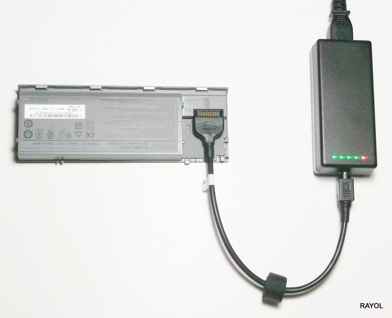 External Laptop Battery Charger for Dell Inspiron 510m Inspiron 600m Latitude D500 D505 D510