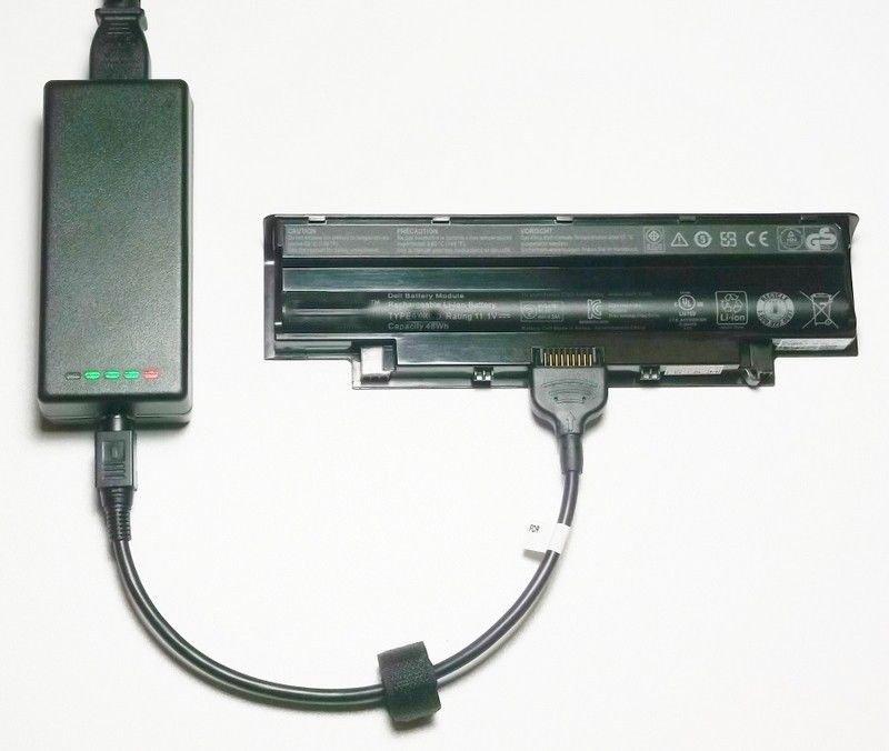 External Laptop Battery Charger for Dell Latitude D420 D430 KG046 KG126 PG043