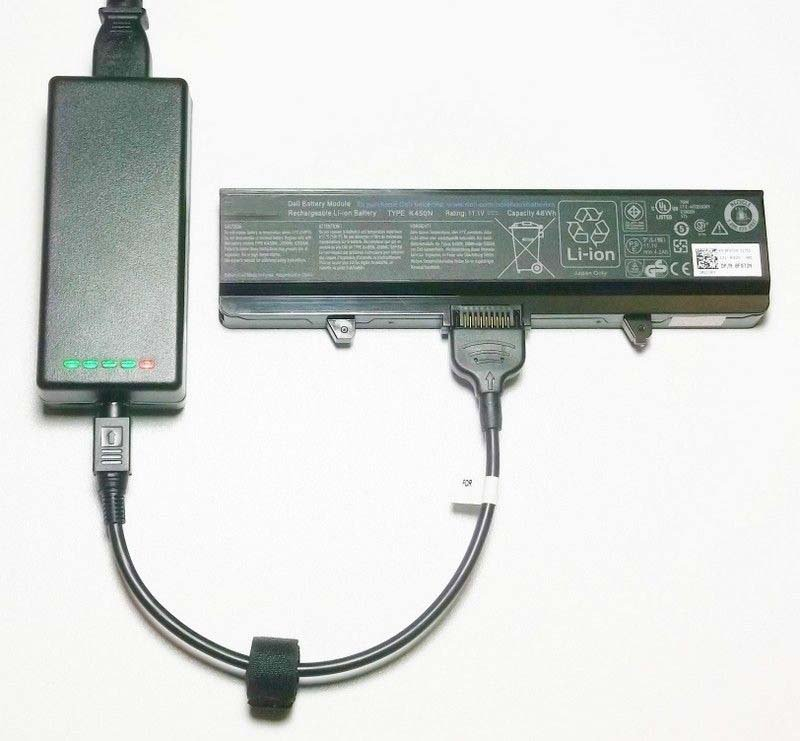 External Laptop Battery Charger for Dell 312-0425 312-0429 312-0455 C5974 D5318