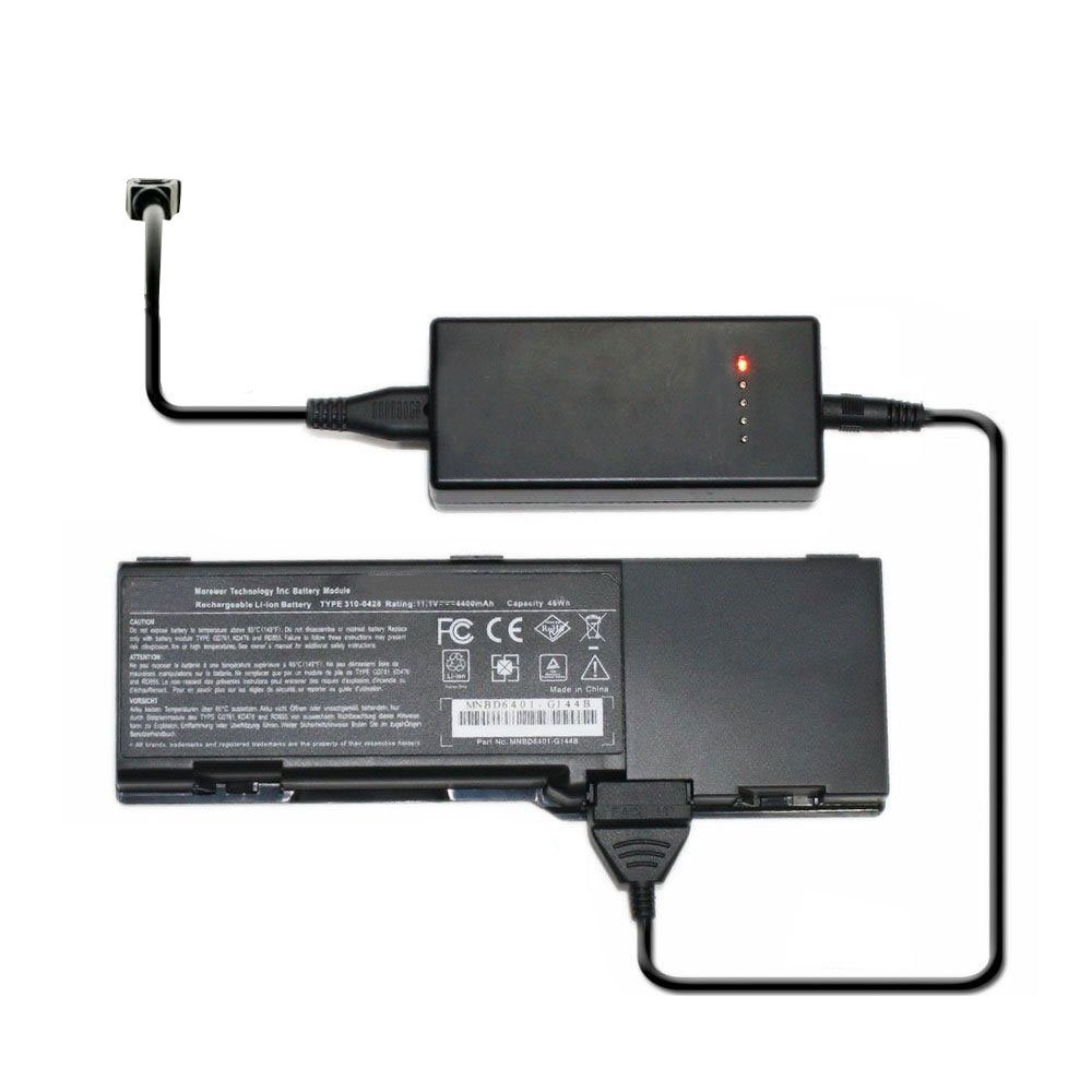 External Laptop Battery Charger for Dell 312-0585 FT080 FT092 FT095 KX117