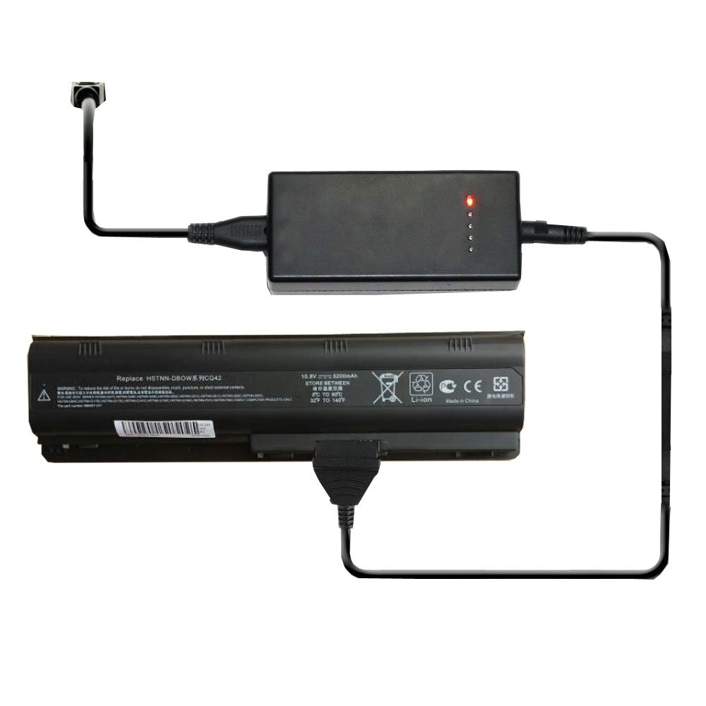 External Laptop Battery Charger for HP 640320-001 GSTNN-Q62C HSTNN-CB0W HSTNN-CBOW HSTNN-F01C