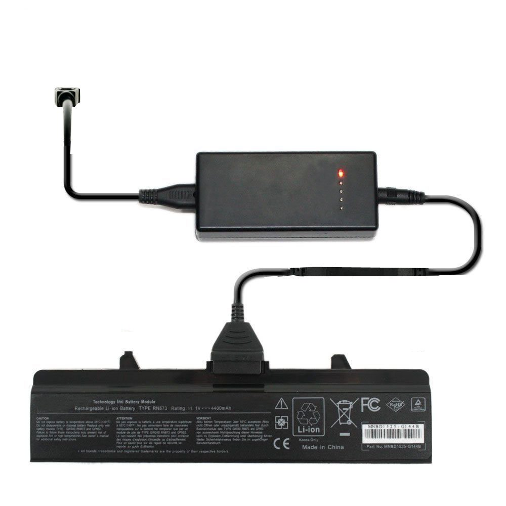 External Laptop Battery Charger for HP Pavilion dv3-1000 dv3-1001TX dv3-1051xx dv3-1073cl