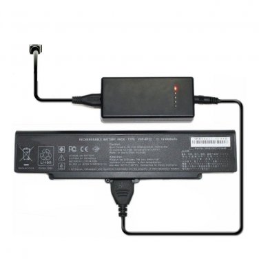 External Laptop Battery Charger for Sony Vaio VGN-C90 VGN-CR VGN-FE VGN-FE21 VGN-FE28 Series