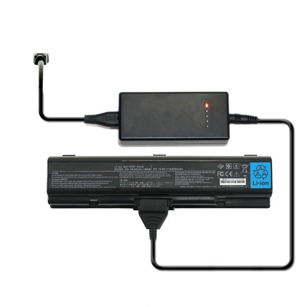 External Laptop Battery Charger for Toshiba Satellite A355 A355D A500 A505 A505D Series
