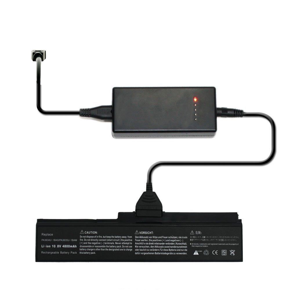 External Laptop Battery Charger for Toshiba Satellite P305D P305 P300D P300 P205D Series
