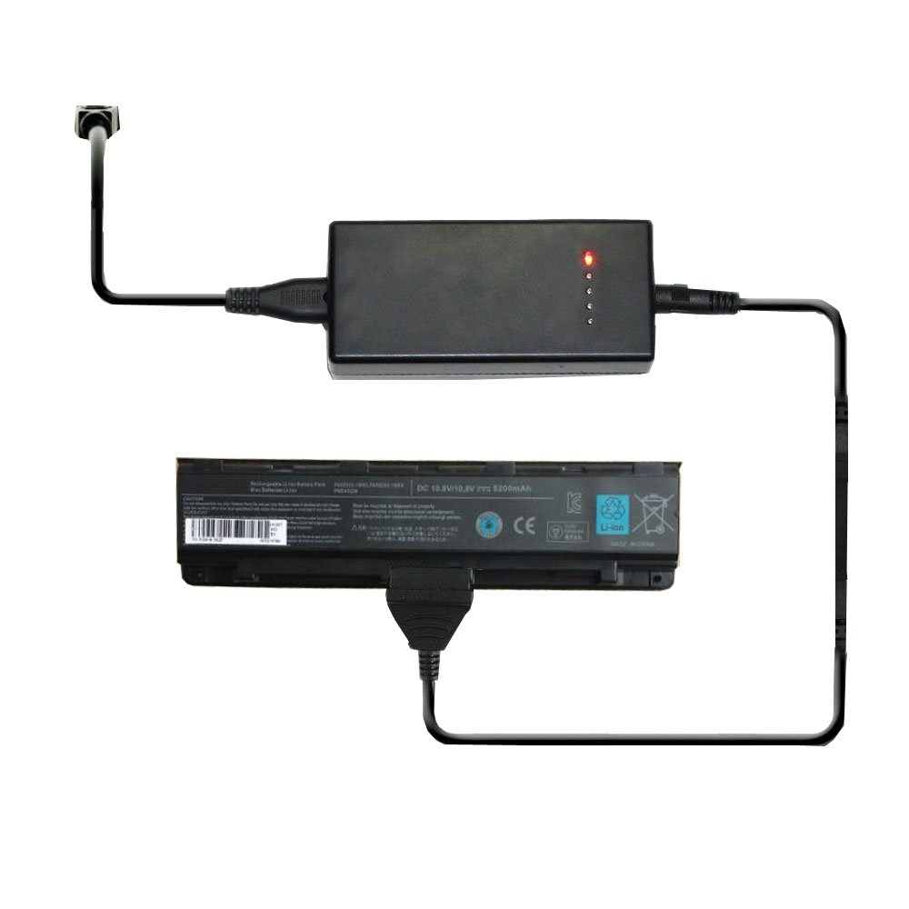 External Laptop Battery Charger for Toshiba Satellite C800 C805 C840 C845 C850 Series