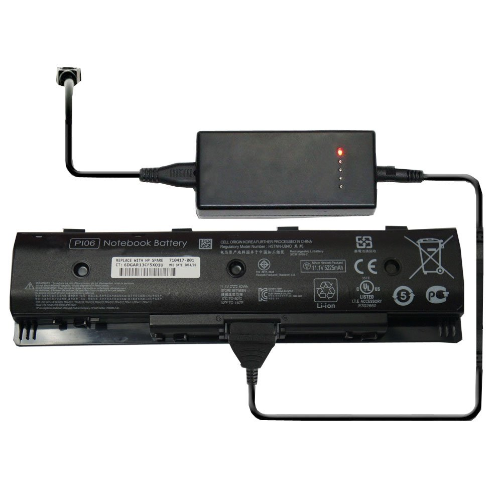 External Laptop Battery Charger for HP Pavilion 15-e072se 15-J053CL 15-j HP envy 15 17 TouchSmart