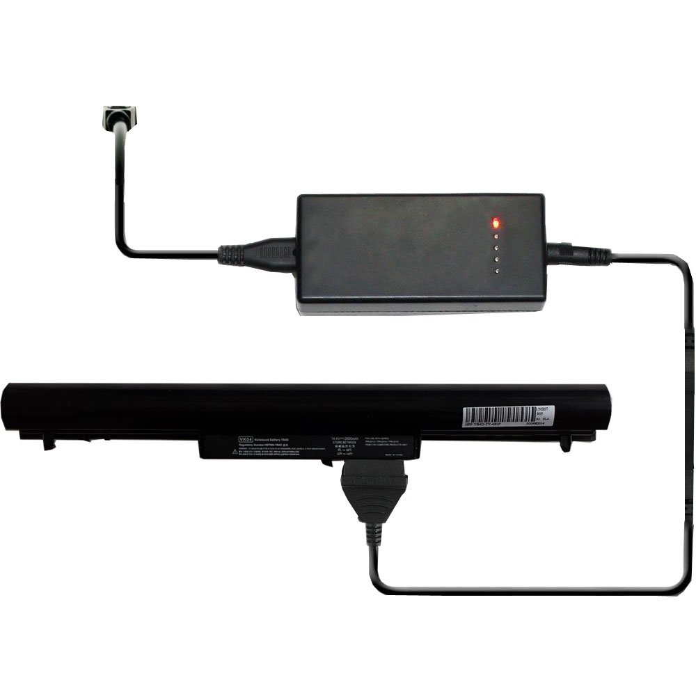 External Laptop Battery Charger for HP Pavilion Sleekbook 14 14t 14z 15 15t 15z Series