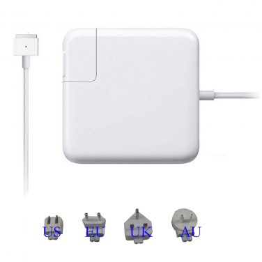 85W Laptop AC Wall Power Supply Adapter Charger for Apple MacBook Pro MagSafe 2