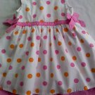 Carters Girls Polka Dot Dress (9 months)