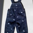 Boys Jean Overalls with Cute Blue Airplanes (3-6 months)