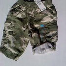 The Childrens Place Boys Camo Shorts (3-6 months)