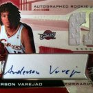 Anderson Varejao 2004-05 SPX Rookie Jersey/Autograph #/1999