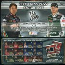 2009 Press Pass Box Set *Memorabilia Card*