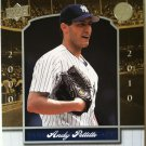 Andy Pettitte 2008 Upper Deck Yankee Stadium Legacy Collection