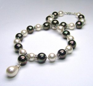 Evening Chic - South Sea Shell Pearl Necklace