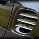 Rear Quarter Panel - Air Intakes Carbon Kevlar Vanes