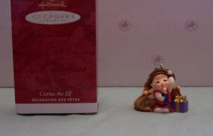 Hallmark KOCC 2001 Curius the Elf