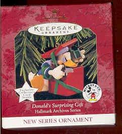 Hallmark 1997 Donald's Surprising Gift (Mickey & Co)