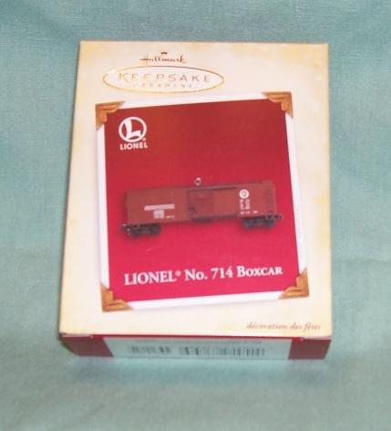 Hallmark 2005 Lionel No. 714 Boxcar