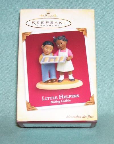Hallmark 2005 Little Helpers - Baking Cookies  (Black)