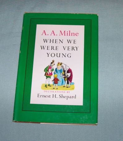 BOOK HC/DJ A.A. Milne - When We Were Very Young