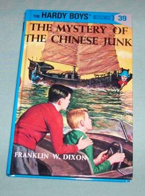 BOOK HC Hardy Boys #39 Chinese Junk