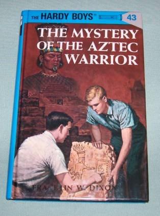 BOOK HC Hardy Boys #43 Aztec Warrior