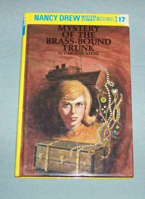 BOOK HC Nancy Drew #17 Brass Bound Trunk