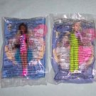 McDonalds Barbies 1998 Lot of 2  #BR9802F