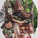 OOP Primitive Mammy and Girls Doll Pattern
