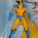 Marvel Universe 2011 YELLOW COSTUME WOLVERINE FIGURE Loose X-men Sentinel Set