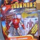 Marvel Universe 2010 IM 2 SILVER CENTURION ARMOR IRON MAN FIGURE 34 Hasbro