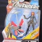Marvel 2012 Avengers Movie GRAPPLE BLAST BLACK WIDOW FIGURE 14 Universe