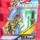 Marvel 2012 Avengers Movie COSMIC AXE CHITAURI FIGURE 16 Universe Alien Baddies