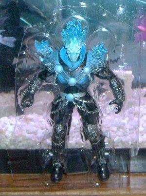 Marvel Legends 2012 Terrax Series BLUE VARIANT GHOST RIDER FIGURE Loose 6 Inch