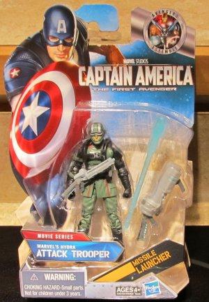 Marvel Universe 2011 Captain America HYDRA ATTACK TROOPER FIGURE 15 Avengers