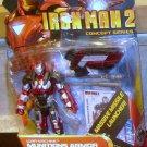 Marvel Universe 2010 Iron Man 2 MUNITIONS ARMOR WAR MACHINE FIGURE 19 Avengers