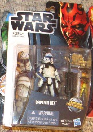 Star Wars TCW 2012 CLONE CAPTAIN REX FIGURE CW13 Animated Series